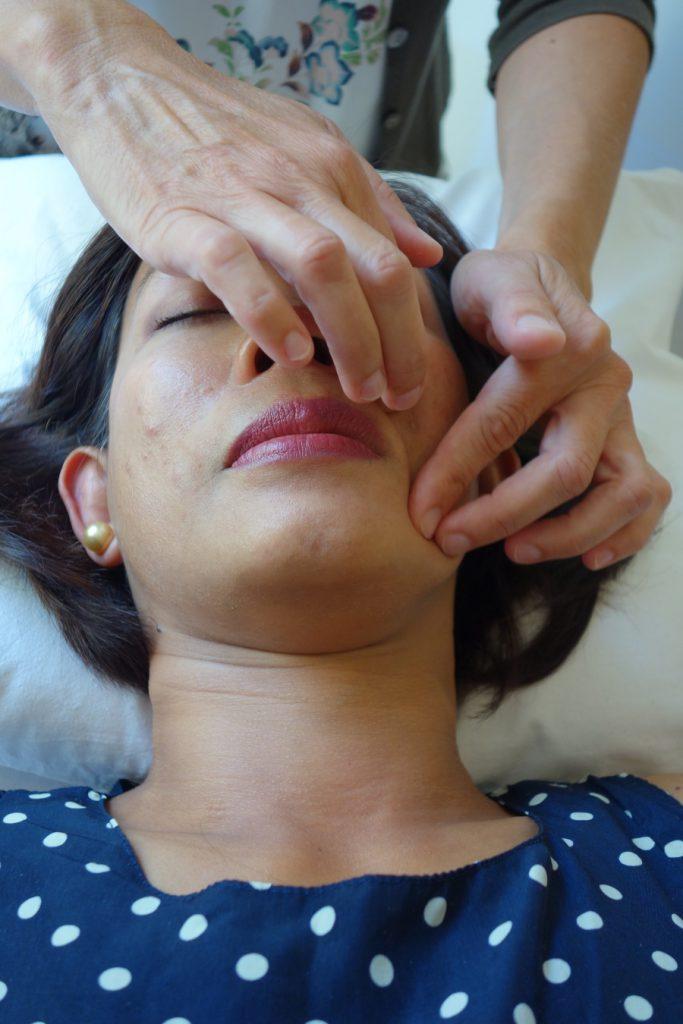 Gezichtsreflexzonetherapie